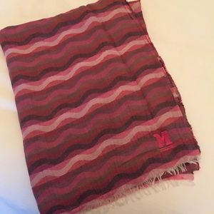 Missoni Pink and PurpleZigzag Scarf!